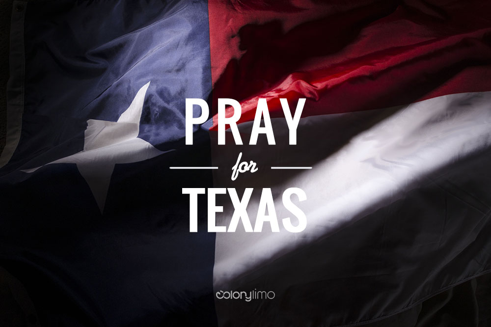 pray-for-texas-colony-limo