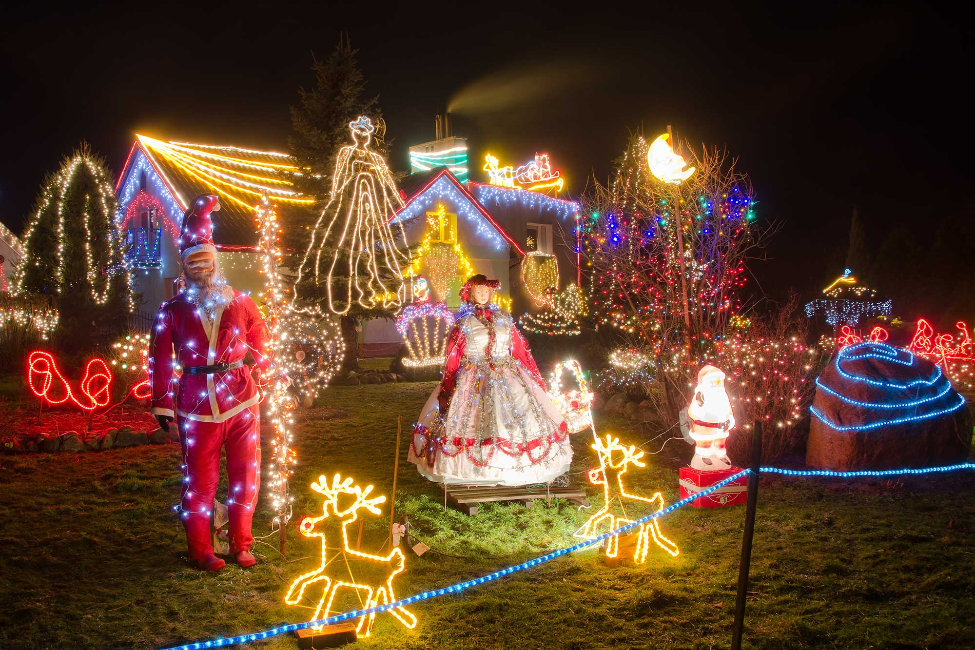 Visit the Best Places for Christmas Lights in Houston Part Two