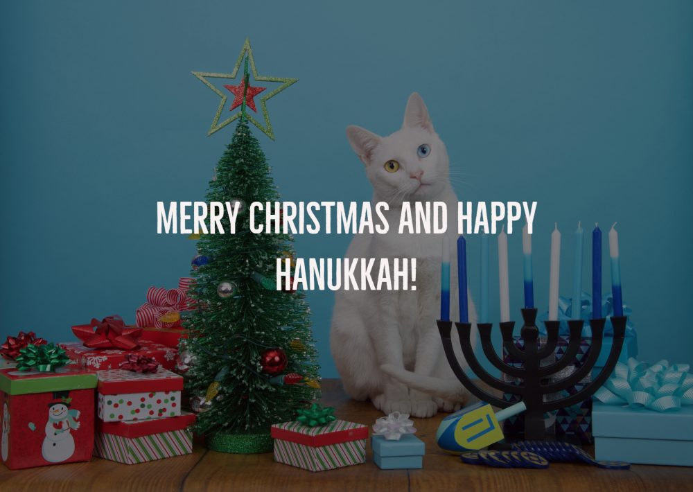 Merry Christmas and Happy Hanukkah!