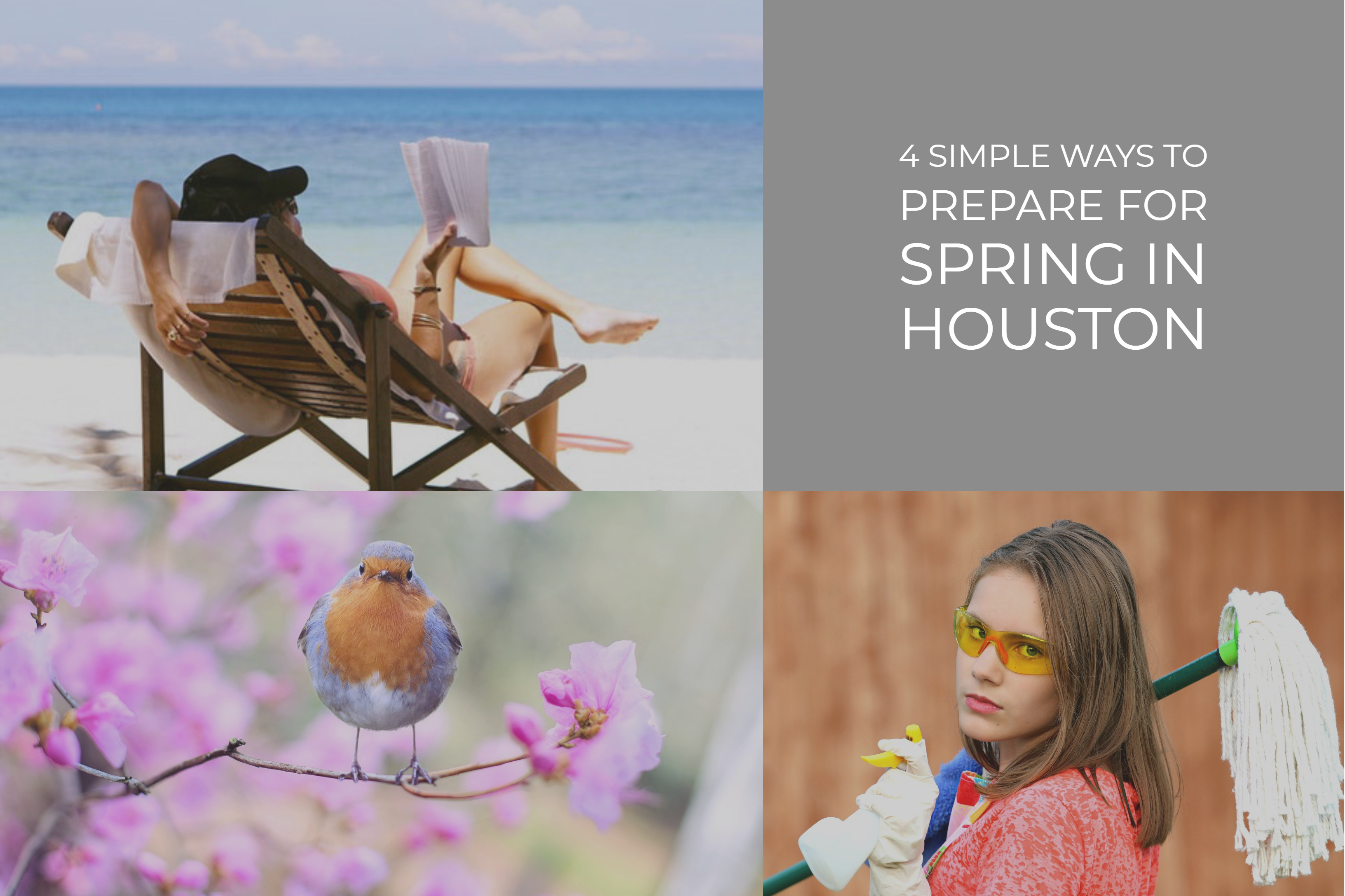 4 Simple Ways To Prepare For Spring In Houston