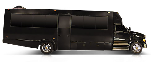 32 Passenger Limo Party Bus Rental Service - Limo Service Houston