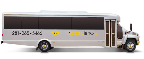 Shuttle Bus | Up to 33 Passengers - Limo Service Houston