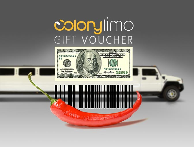 Colony Limo Monthly sweepstakes