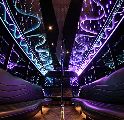 Party Bus 30 Passenger White