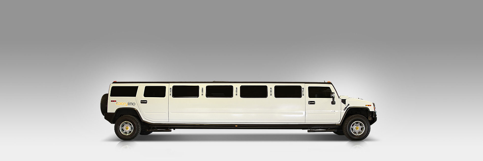 Hummer H2 Stretch Limo - White - Colony Limo Service Houston