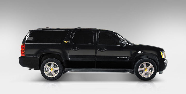 Chevrolet Suburban SUVs - Colony Limo Service Houston